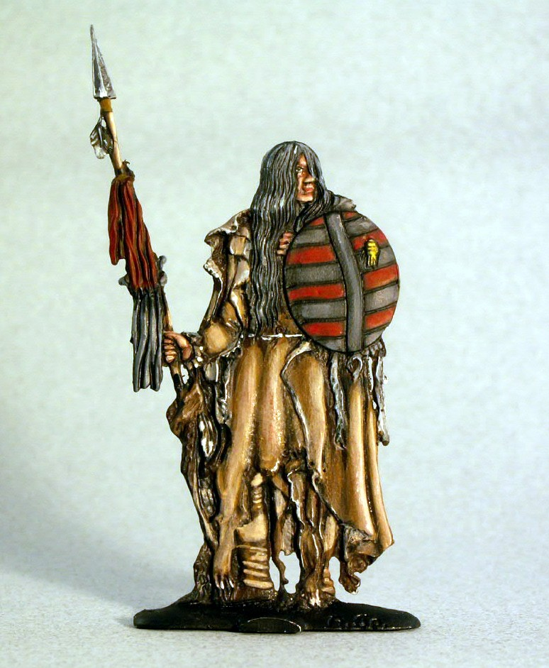 Flat Figure: Native American
