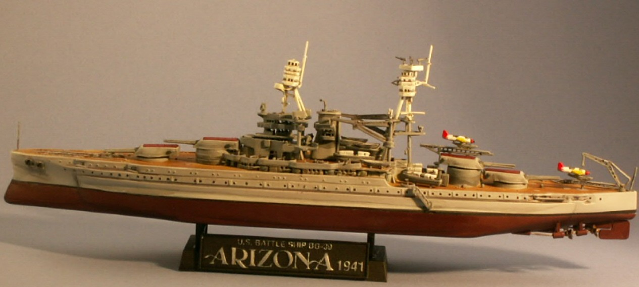 USS Arizona Finished