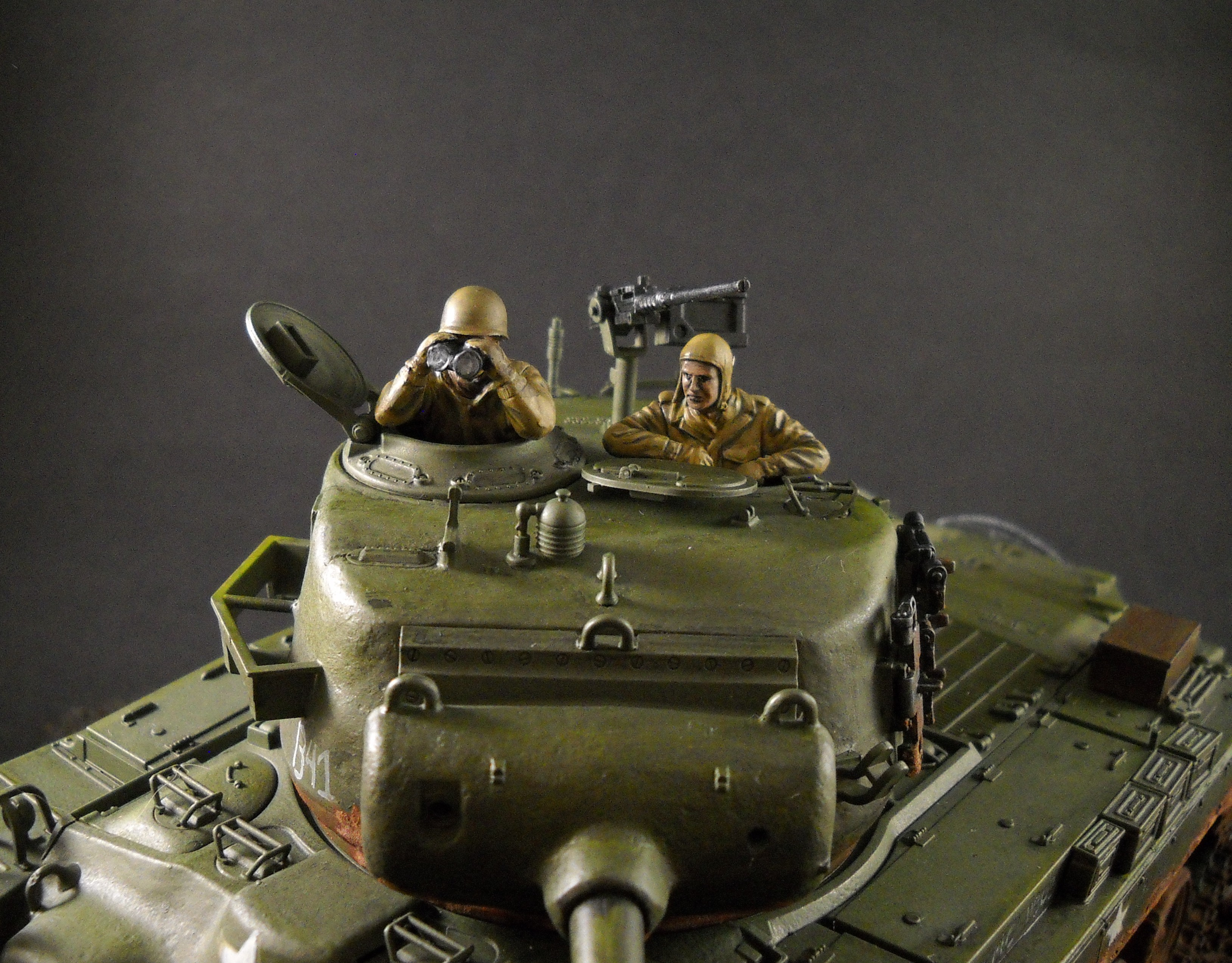 M26 Pershing, 1/35th scale from Tamiya