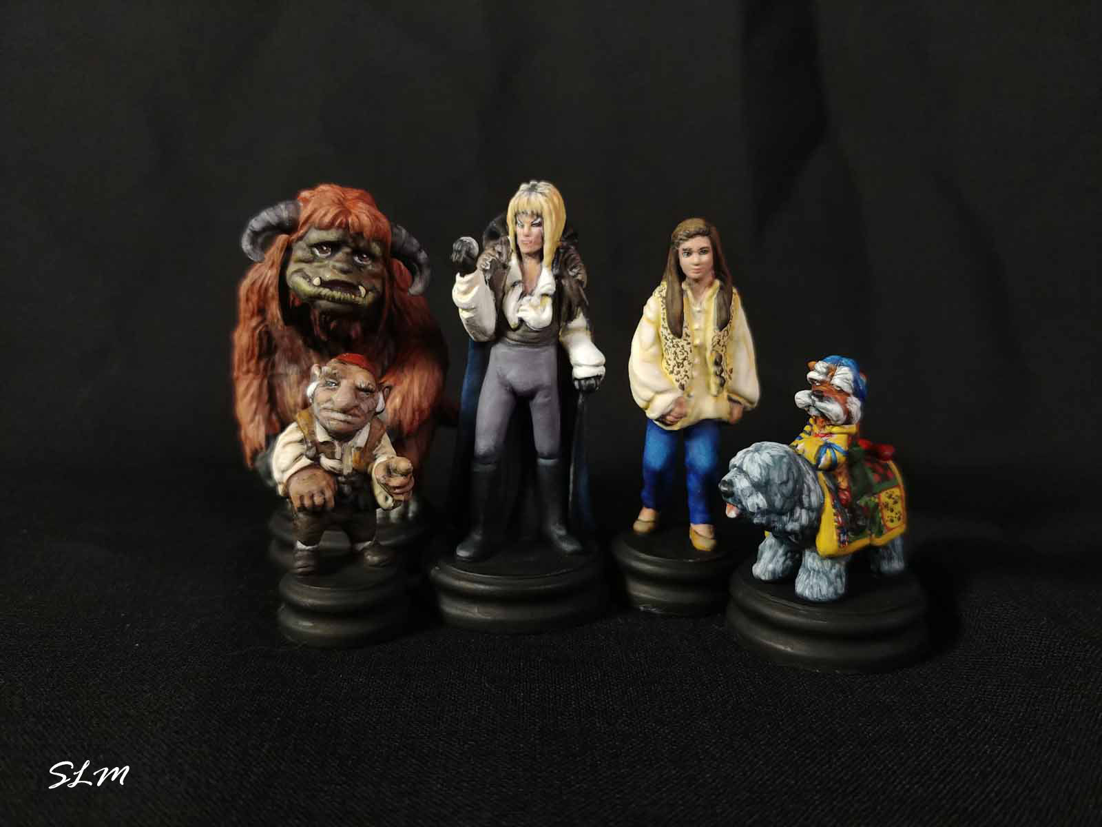 Labyrinth Board Game Minis