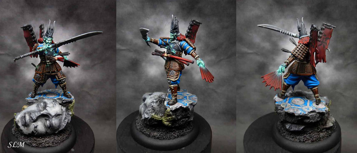 Izamu from Malifaux