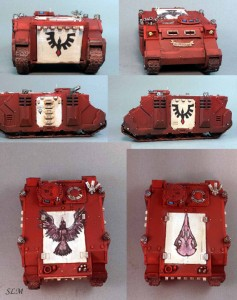 Blood Raven Rhinos