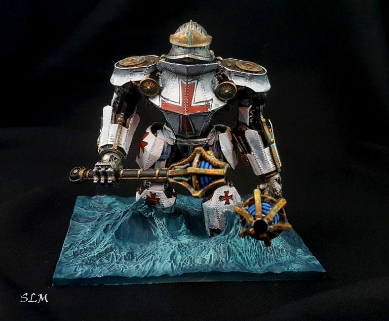 Prussian Empire Hochmeister Battle Robot