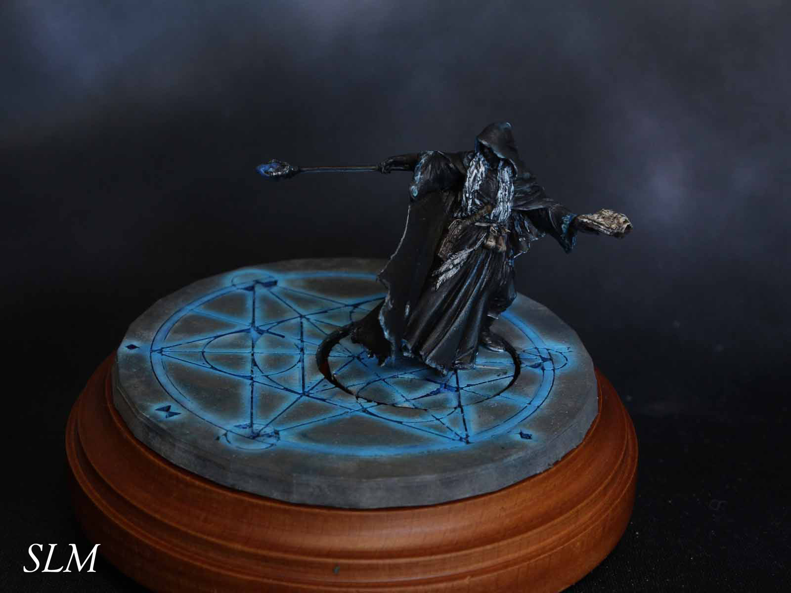 The Sorcerer on an Arcane Circle